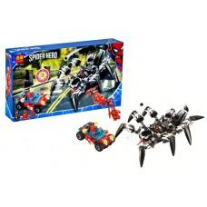 "Конструктор ""SUPER HEROES"" ""SPIDERMAN: Краулер Венома"" 431дет. 11502 р.41*23*6,5см."