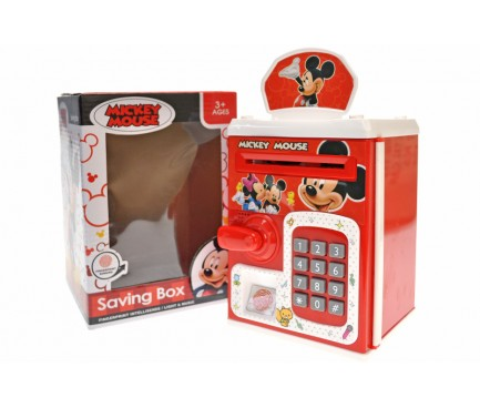 """Сейф """"Mickey Mouse"""" музичний, зі світлом WF-3002MK р.14,3*14,5*20см"""