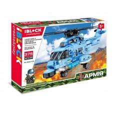 Конструктор IBLOCK PL-920-173  АРМИЯ,375дет.,  в собран.кор. 38*6,5*26 см