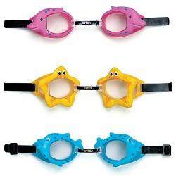Очки для плавания 3-10 лет 3цв. 55603