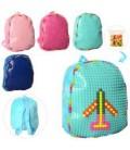 Рюкзак MP 1523  средний+,30-24-8см,мягкий,застежка-молния,1отд,пиксели, 4цвета,в кульке