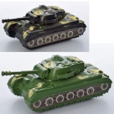 Танк 996-1-2 инер-й, 17,5см, 2 цвета, в кульке, 17,5-8,5-6,5см
