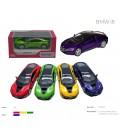 Модель легкова 5'' KT5379WA BMW i8 метал.інерц.відкр.дв.4кол.кор.