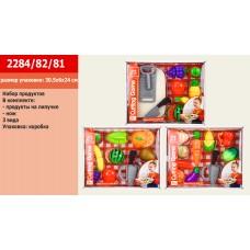 Набор продуктов 2284/82/81 (3 вида, на липучке, в коробке 30,5*6*24см