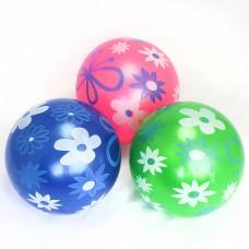 """М'яч 9"""" BT-PB-0106 метелики 4кол.60г сітка"""