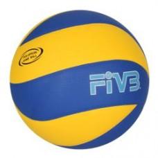Мяч волейбольный MS 0162-1 MIKASA, размер5,ПУ,8панелей,бесшов,260-280г,ламиниров,в кульке