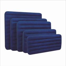 Велюр матрац 68759 синий сред 152-203-22 см
