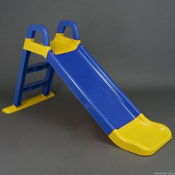 Горка для катания детей 140см 0140/03 син+желт