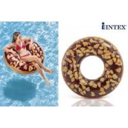 """Круг 114см """"Пончик шоколад"""" 56262"""
