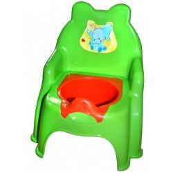 Горшок детский №2 жолтый,голубой,синий,розовый,салатовый арт. 013317-1