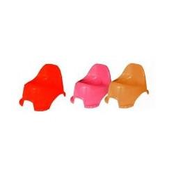 Горшок детский (Оранжевий+Рожевий+Червоний)