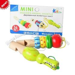 Деревянная игрушка Свисток MD 0678 (2 вида, в кульке, 13,5-10-2см