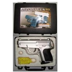 Пистолет CYMA ZM01A с пульками метал.кор.13,6см ш.к