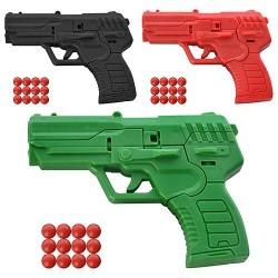 Пистолет на пульках NY-8 , 3 цвета, в кульке, 8,5-6,5-1,5см