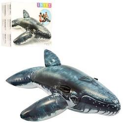 Плотик 57530 кит, 201-135см, ручки 2шт, рем.комплект, в кор-ке, 26,5-24,5-9,5см