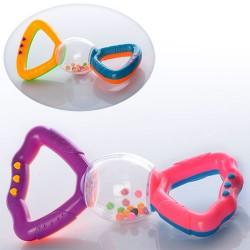 Погремушка 880 2 цвета, в кульке, 14,5-7-3,5см