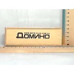 Домино в деревянной кор-ке, M 0027 14,5-5-3см