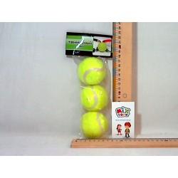 Теннисные мячи MS 0234 Большой теннис (3шт, в кульке, 23-11см
