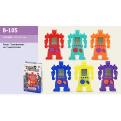 """Тетрис """"Трансформер"""" B-105 батар., 6 цветов микс, в короб.13,5*9*3см"""