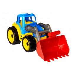 Трактор пластм.